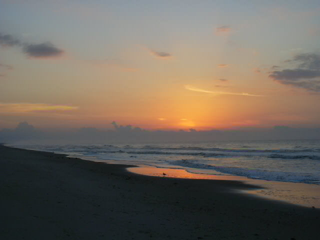 Sunrise at Ocean Isle Beach, NC